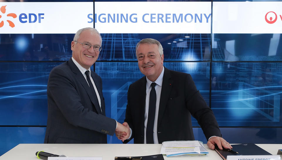 cheaper 1a8b0 9c04b EDF and VEOLIA conclude a partnership agreement