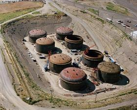 Tanks of Hanford site